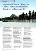 Impacts of Climate Change on Coastal and Marine Fisheries Resources in Bangladesh
