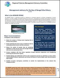 Fisheries Advisories: Hilsa and Indian mackerel